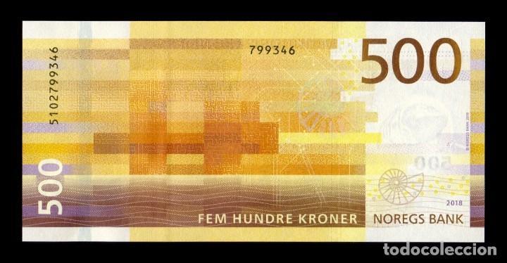 Billetes extranjeros: Noruega Norway 500 Kroner 2018 Pick Nuevo SC UNC - Foto 2 - 146620978