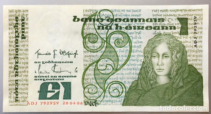 IRLANDA. 1 LIBRA (Coins - Notaphily - International Banknotes)