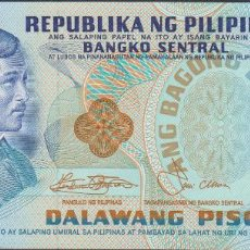 Billetes extranjeros: BILLETES - PHILIPPINES-FILIPINAS - 2 PISO - ND - SERIE C391054 - PICK-159C (SC). Lote 295742668