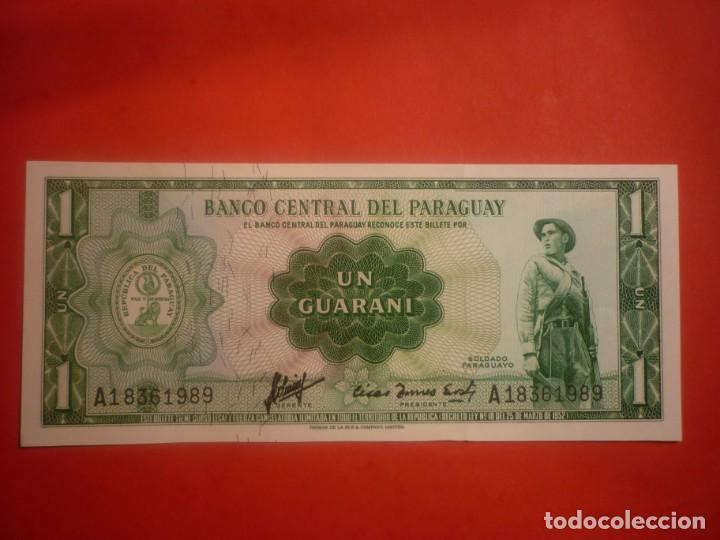 PARAGUAY - 1 GUARANI L.1952 (Numismática - Notafilia - Billetes Extranjeros)