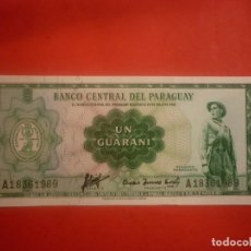 Notas Internacionais: PARAGUAY - 1 GUARANI L.1952. Lote 147375450