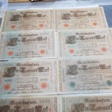 Billetes extranjeros: BILLETES 1000 MARCOS ALEMÁN 1910. Lote 147393805