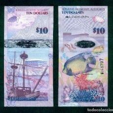 Billetes extranjeros: BERMUDA : 10 DOLARES 2009. SC.UNC. PK.# 59 ONION PREFIX. Lote 195532298