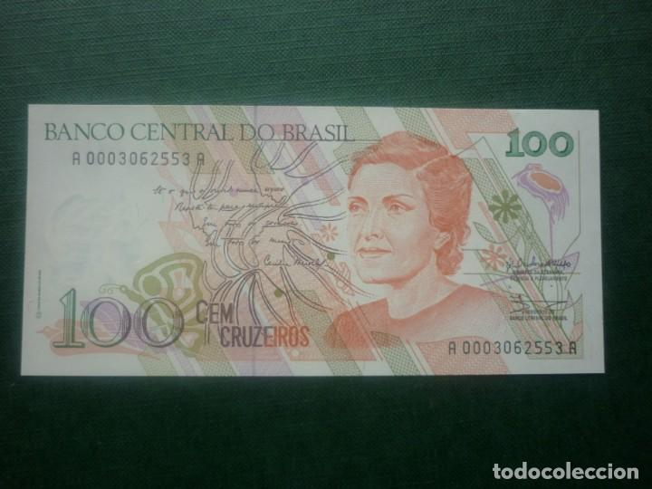 BRASIL - 100 CRUZEIROS (1992) (Numismatik - Notaphilie - Internationale Banknoten)