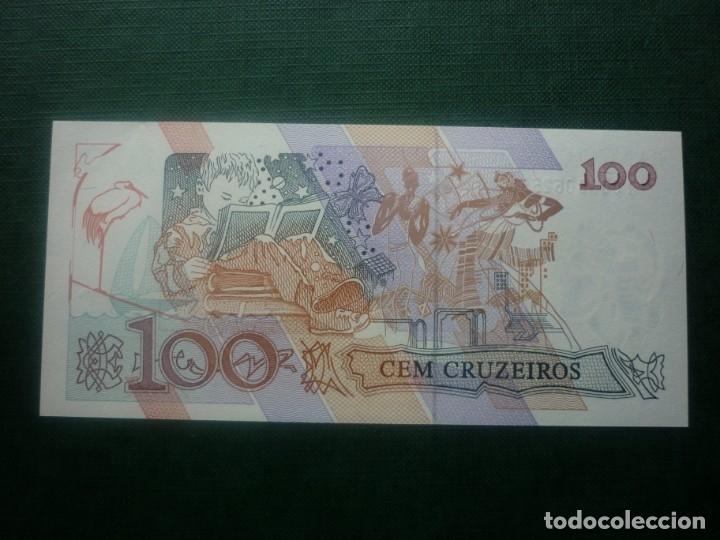 Internationale Banknoten: BRASIL - 100 CRUZEIROS (1992) - Foto 2 - 147767738