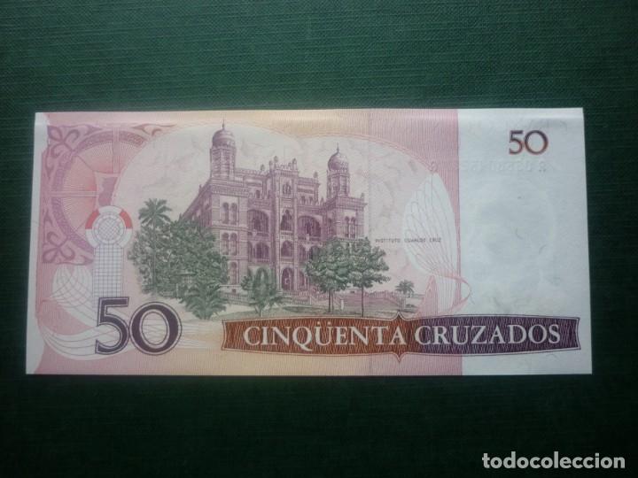 Internationale Banknoten: BRASIL - 50 CRUZADOS (1986) SERIE A A - Foto 2 - 147769874