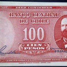 Billetes extranjeros: CHILE 100 PESOS (1947-1958) PICK 114. SC-. Lote 147876846