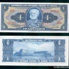 Billetes extranjeros: BRASIL : 1 CRUZEIRO. ND 1954-58. SC.UNC. PK.# 150 B FIRMA 4. Lote 147947046
