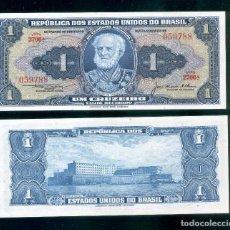 Billetes extranjeros: BRASIL : 1 CRUZEIRO. ND 1954-58. SC.UNC. PK.# 150 C FIRMA 5. Lote 147947310