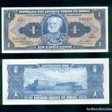 Billetes extranjeros: BRASIL : 1 CRUZEIRO. ND 1954-58. SC.UNC. PK.# 150 D FIRMA 6. Lote 147947450