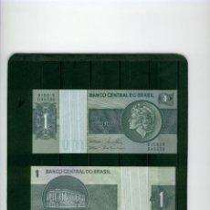 Billetes extranjeros: BRASIL : 1 CRUZEIRO. ND 1980. SC.UNC. PK.# 191 A,C. FIRMA 20. Lote 147948234