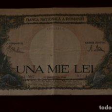 Billetes extranjeros: 1000 LEI 1941 RUMANIA. Lote 148018386
