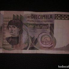Billetes extranjeros: 10000 LIRAS ITALIA 1976. Lote 149870902