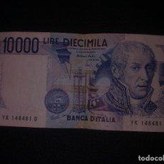 Billetes extranjeros: 10000 LIRAS ITALIA 1984. Lote 149871346
