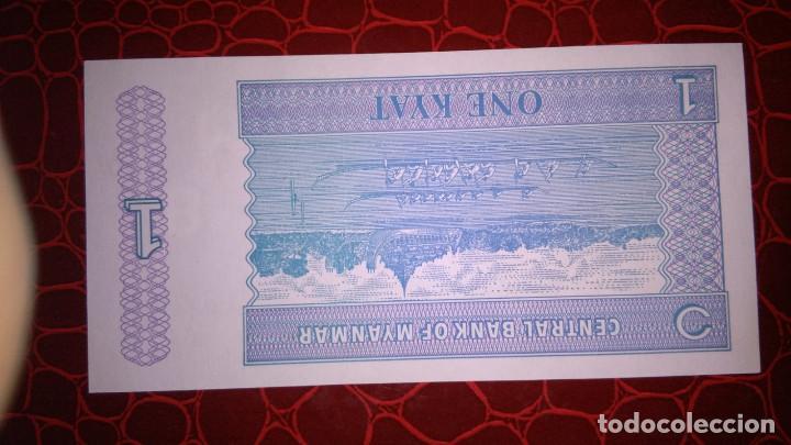 Billetes extranjeros: billete de myanmar - Foto 2 - 149957462