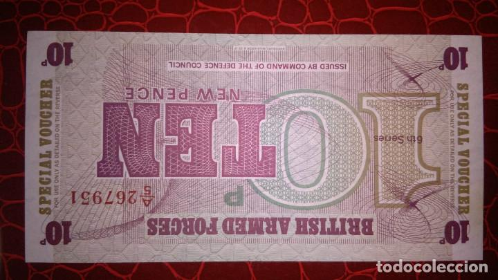Billetes extranjeros: billete de british armed forces - Foto 2 - 149957730