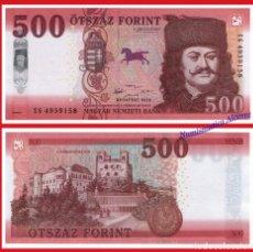Billetes extranjeros: HUNGRIA NUEVO 500 FORINT AÑO 2019 PICK NUEVO - SC. Lote 156890366