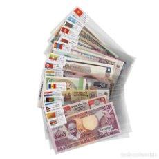 Billetes extranjeros: DE 52 PAÍSES ENTRE 93 Y 95 PIEZAS DE UN MONTÓN DE DIFERENTES BILLETES WORLD PAPER MONEY UNCIRCULATED. Lote 150157322