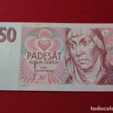 Billetes extranjeros: CHEQUIA - CZECH REPUBLIC 50 KORUN 1997 SC. Lote 150179146