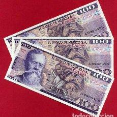 Internationale Banknoten - 1 BILLETE MEXICO MEJICO , 100 PESOS , 1982 , SIN CIRCULAR , PLANCHA , ORIGINAL - 158662254