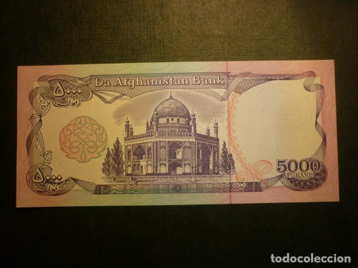 Billetes extranjeros: AFGANISTAN - 5000 afganis SH1372 (1993)S/C - Foto 2 - 150940946