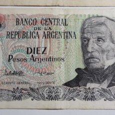 Billetes extranjeros: LOTE BILLETES SUDAMÉRICA (ARGENTINA Y PERÚ). Lote 151612938