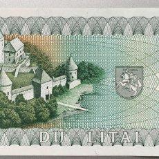 Billetes extranjeros: LITUANIA. 2 LITAS. Lote 151710822