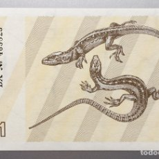 Billetes extranjeros: LITUANIA. 1 TALONA. Lote 151711166