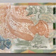 Billetes extranjeros: BAHAMAS. 1/2 DOLAR. Lote 151711330