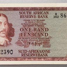 Billetes extranjeros: SUDAFRICA. 1 RAND. Lote 151712222