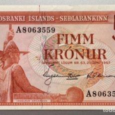 Billetes extranjeros: ISLANDIA. 10 CORONAS. Lote 151712354
