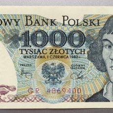Billetes extranjeros: POLONIA. 1000 ZLOTYCH. Lote 151712794