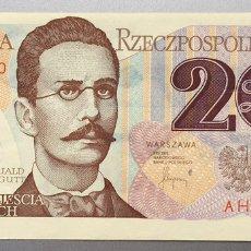 Billetes extranjeros: POLONIA. 20 ZLOTYCH. Lote 151713590