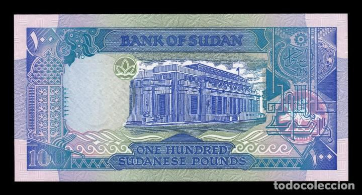 Billetes extranjeros: Sudan 100 Pounds 1992 Pick 50b SC UNC - Foto 2 - 153336074
