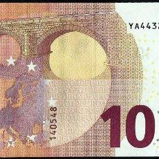 Billetes extranjeros: NEW 10 EURO - YA Y007 C5 - YA4432140548 - GREECE - GRECIA - DRAGHI - UNC - FDS . Lote 153556686