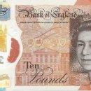 Billetes extranjeros: BILLETE DE GRAN BRETAÑA 10 LIBRAS 2016 SC POLIMERO. Lote 154630342