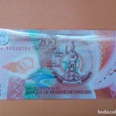 Billetes extranjeros: VANUATU 200 VATU PICK N SC. Lote 155110326