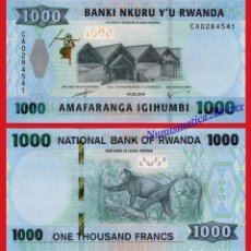 Billetes extranjeros: RWANDA 1000 FRANCOS 2019 PICK NUEVO - SC. Lote 156890310