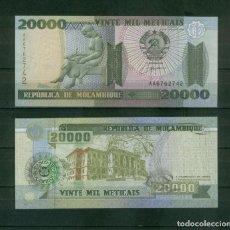 Billetes extranjeros: MOZAMBIQUE : 20000 METICAIS 1999. SC.UNC. PK.140. Lote 157139042