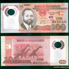 Billetes extranjeros: MOZAMBIQUE : 100 METICAIS 2011. SC.UNC. PK.151. Lote 157138997