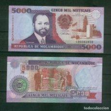 Billetes extranjeros: MOZAMBIQUE : 5000 METICAIS 1991. SC.UNC. PK.136. Lote 157138941