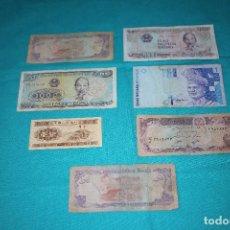 Billetes extranjeros: LOTE (106) 7 BILLETES MUNDO CIRCULADOS. Lote 155788218