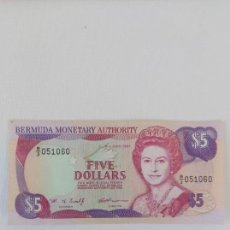 Billetes extranjeros: BILLETE DE FIVE DOLLARS. Lote 155908506