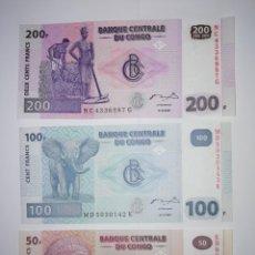 Billetes extranjeros: BILLETES DE EL CONGO. Lote 155924326