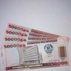Billetes extranjeros: BILLETES DE MOZAMBIQUE. Lote 155928534