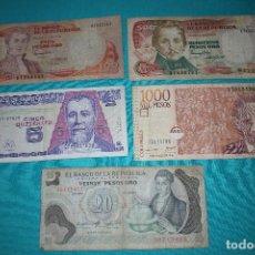 Billetes extranjeros: LOTE (109) 5 BILLETES DEL MUNDO CIRCULADOS. Lote 213367742