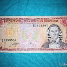 Billetes extranjeros: BILLETE DE REPUBLICA DOMINICANA, 1990, 5 PESOS. Lote 156508474