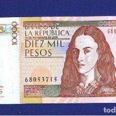 Billetes extranjeros: CLOMBIA : 10000 PESOS 2006. SC.UNC. PK. 453. Lote 156886190