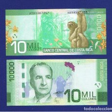 Billetes extranjeros: COSTA RICA : 10000 COLONES.2009 SC.UNC. PK.277. Lote 156908866