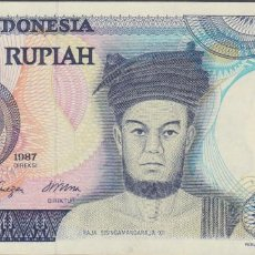 Billetes extranjeros: BILLETES - INDONESIA - 1000 RUPIAS 1987 - SERIE QAE - PICK-124 (SC). Lote 156956458